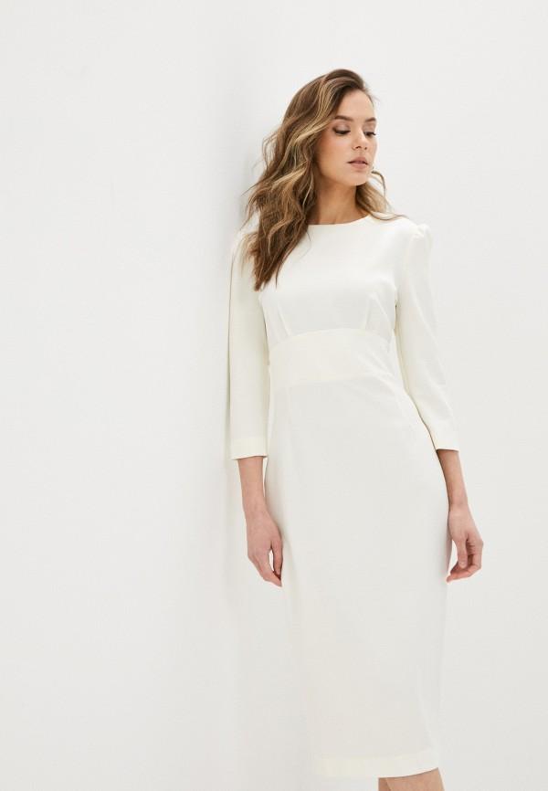 женское платье-футляр trendyangel, белое