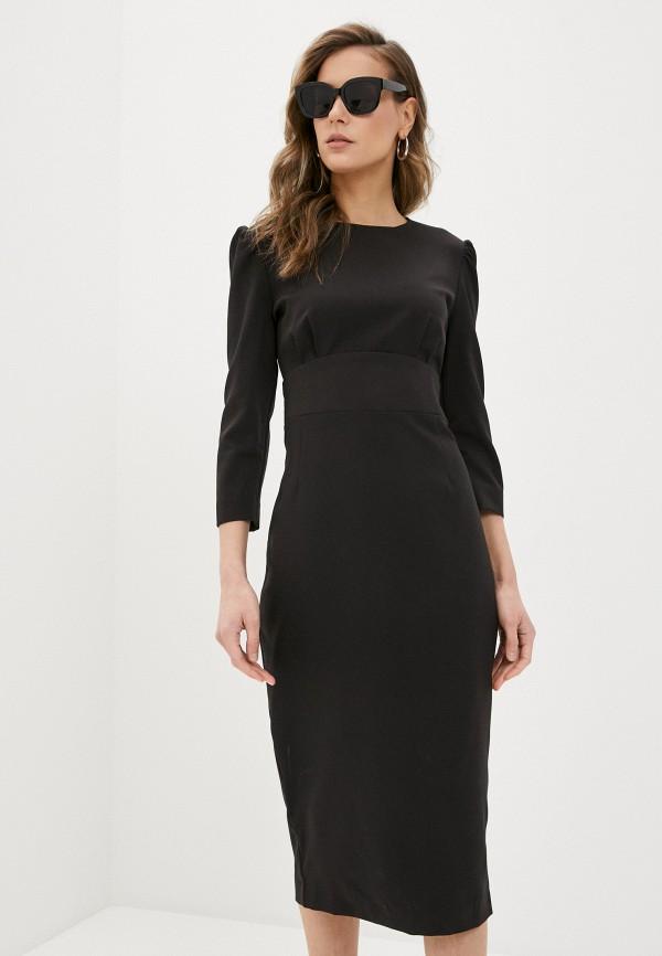 женское платье-футляр trendyangel, черное
