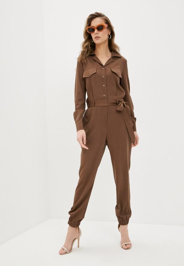 женский комбинезон trendyangel, коричневый