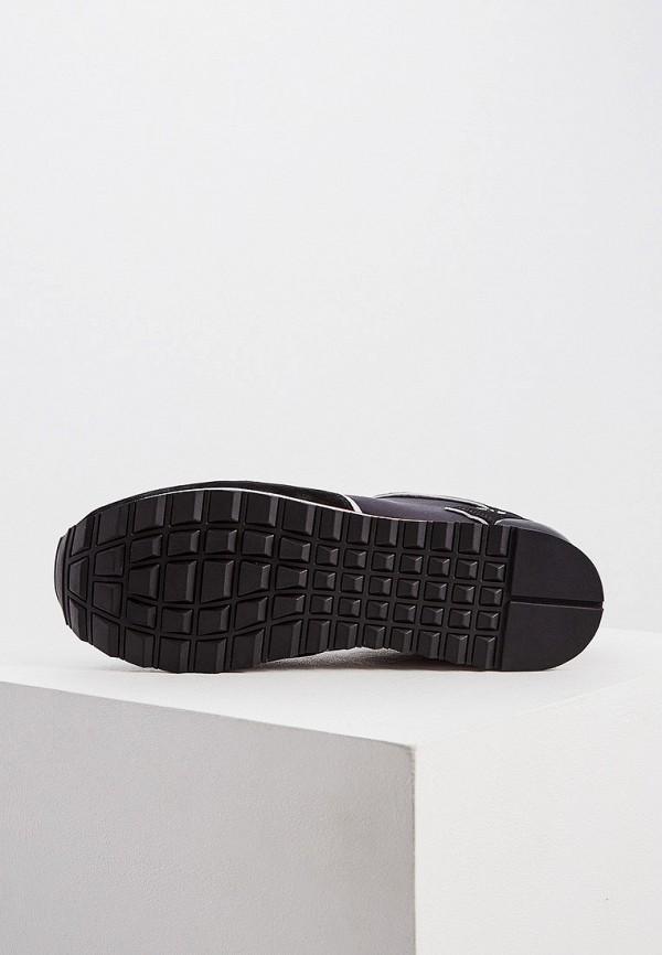Фото 3 - мужские кроссовки Trussardi Jeans черного цвета