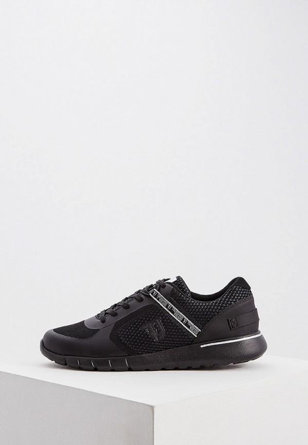 Фото - мужские кроссовки Trussardi Jeans черного цвета