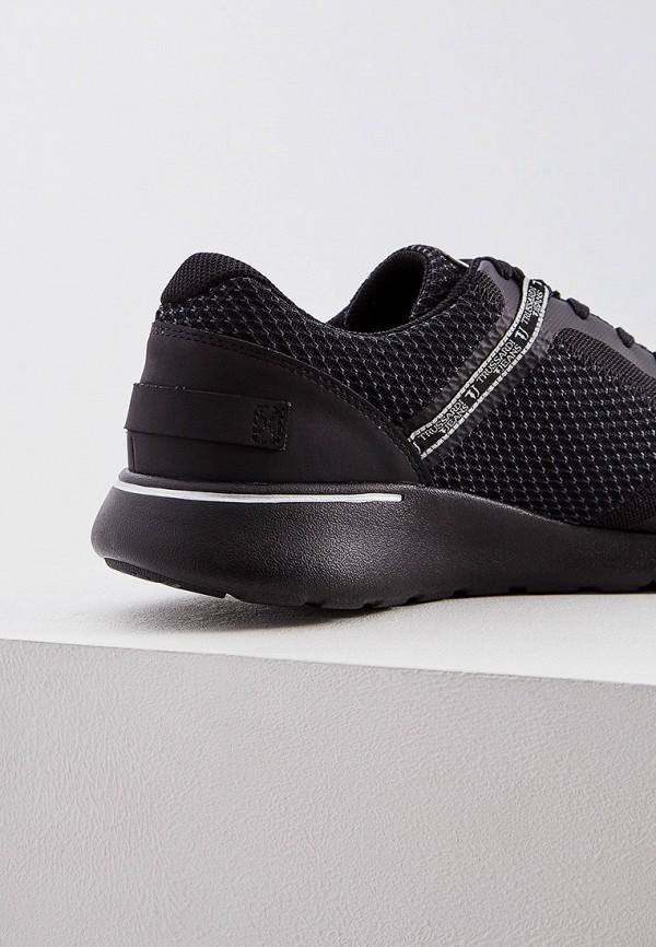 Фото 2 - мужские кроссовки Trussardi Jeans черного цвета