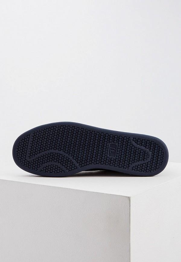 Фото 3 - мужские кеды Trussardi Jeans синего цвета