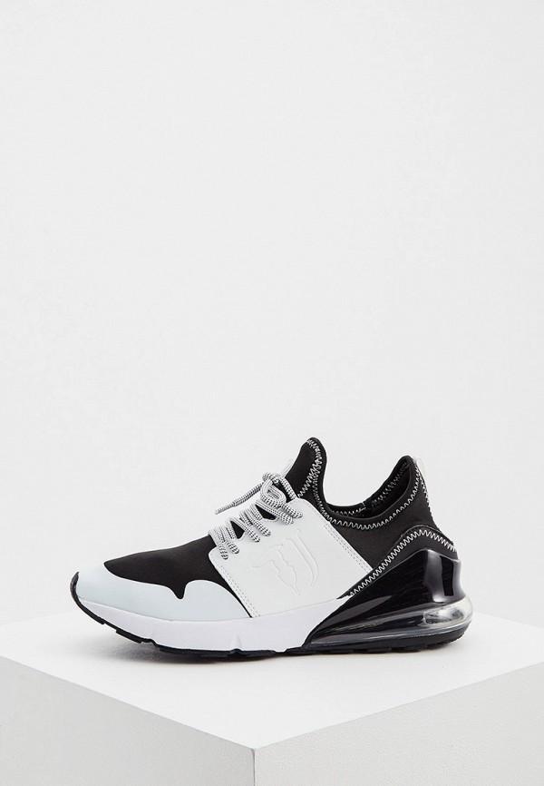 мужские низкие кроссовки trussardi, белые