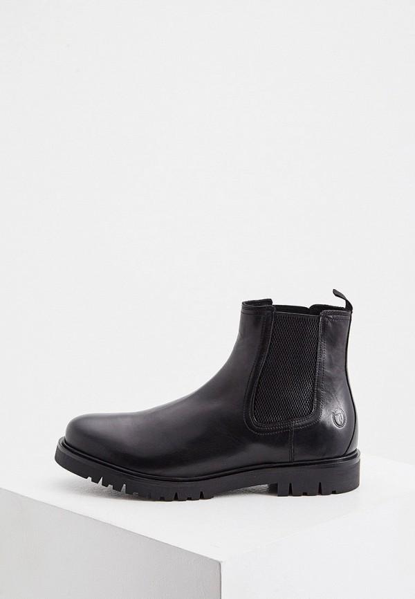 мужские ботинки trussardi, черные