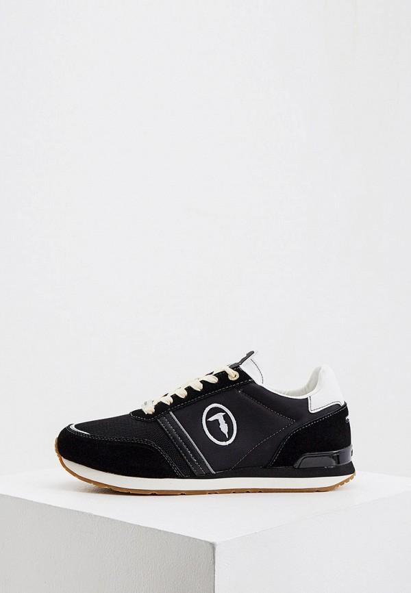 мужские кроссовки trussardi, черные