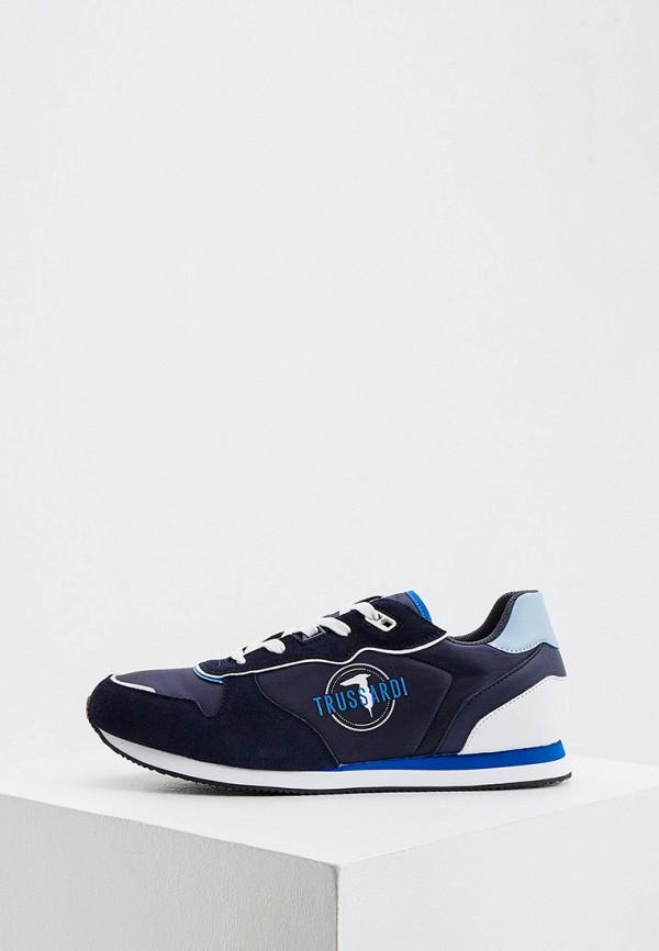 мужские кроссовки trussardi, синие