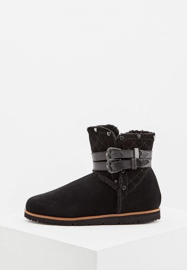 Купить Женские полусапоги Trussardi Jeans черного цвета