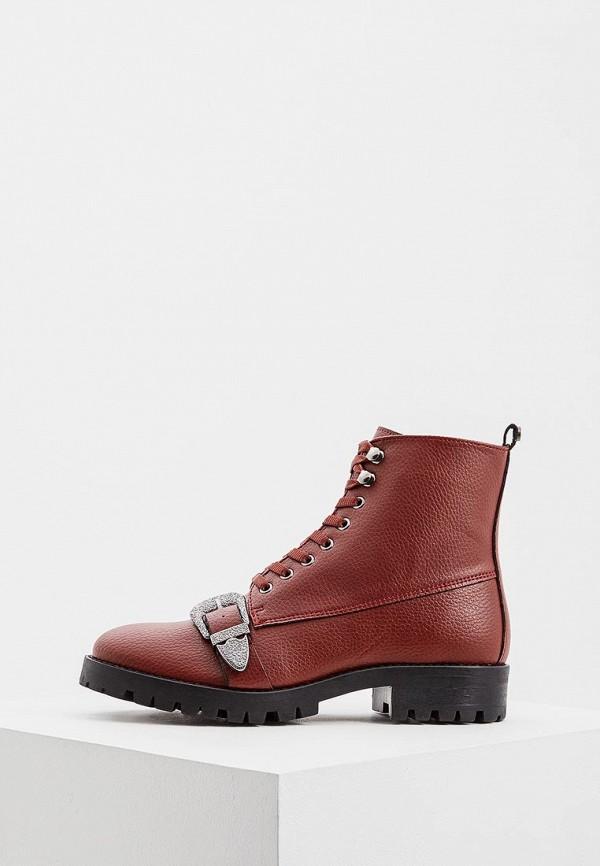 женские ботинки trussardi, красные