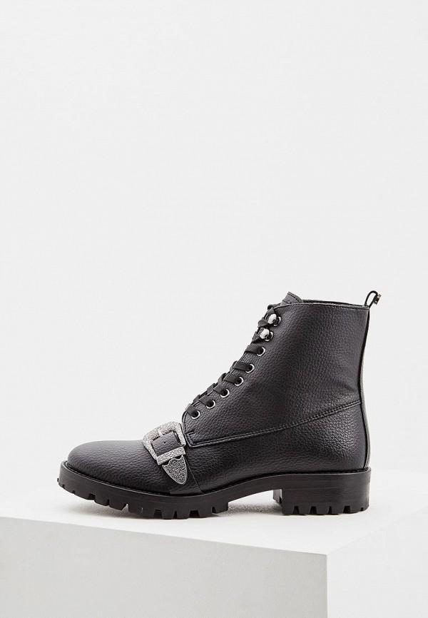 женские ботинки trussardi, черные