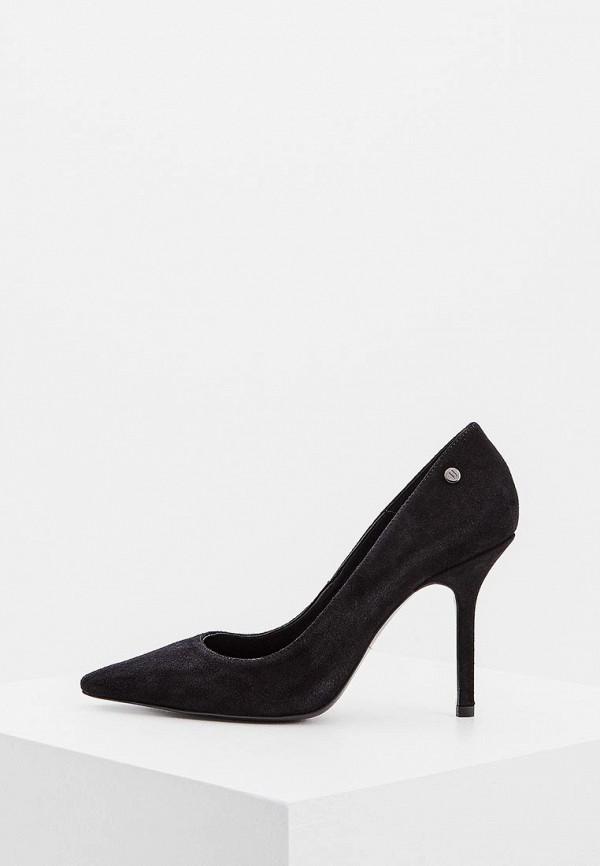 Фото - женские туфли Trussardi Jeans черного цвета