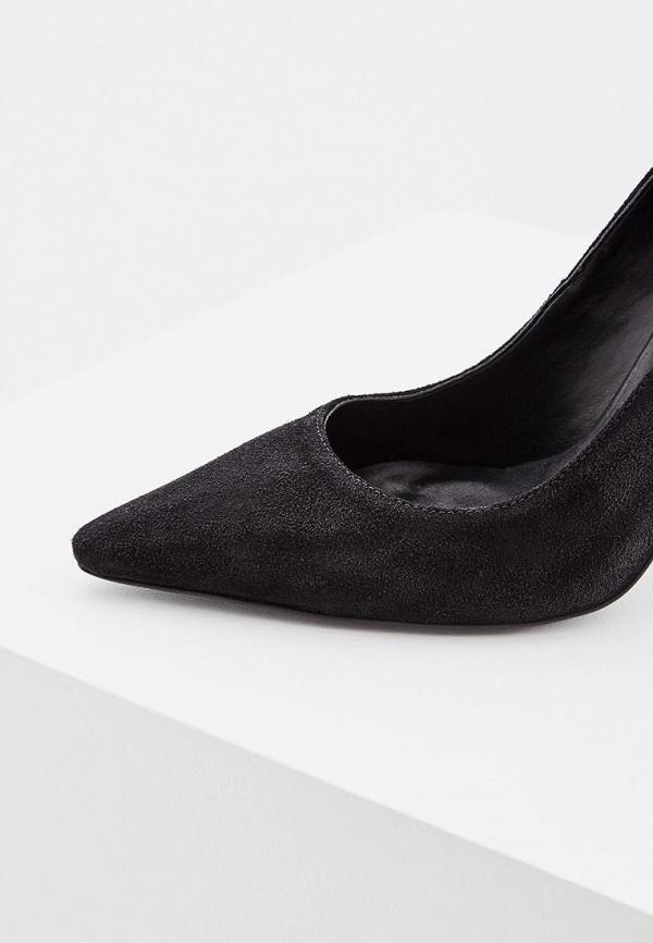 Фото 2 - женские туфли Trussardi Jeans черного цвета