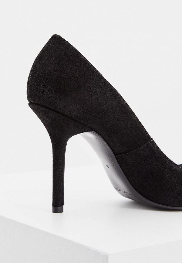 Фото 4 - женские туфли Trussardi Jeans черного цвета