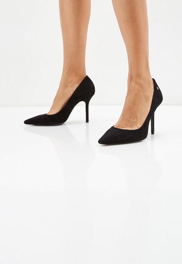 Фото 5 - женские туфли Trussardi Jeans черного цвета