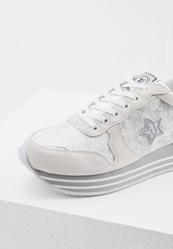 Фото 4 - женские кроссовки Trussardi Jeans белого цвета