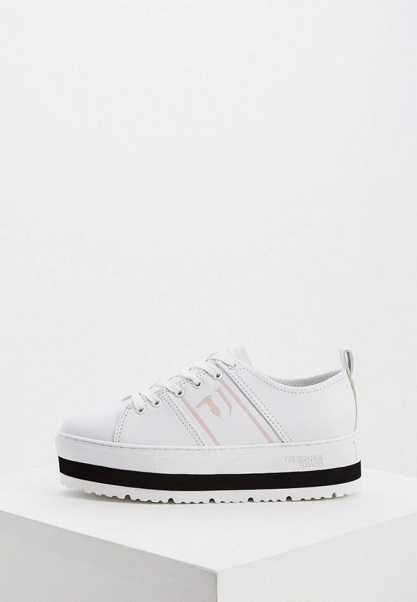 Фото - Женские кеды Trussardi Jeans белого цвета