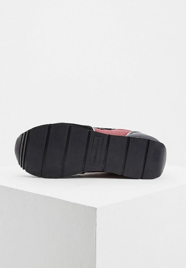 Фото 3 - женские кроссовки Trussardi Jeans бордового цвета