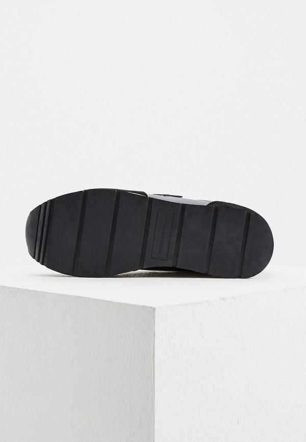 Фото 3 - женские кроссовки Trussardi Jeans черного цвета