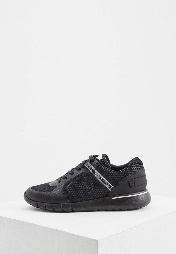 Фото - женские кроссовки Trussardi Jeans черного цвета