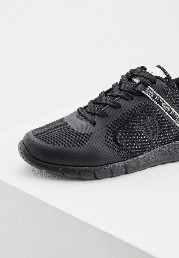 Фото 4 - женские кроссовки Trussardi Jeans черного цвета
