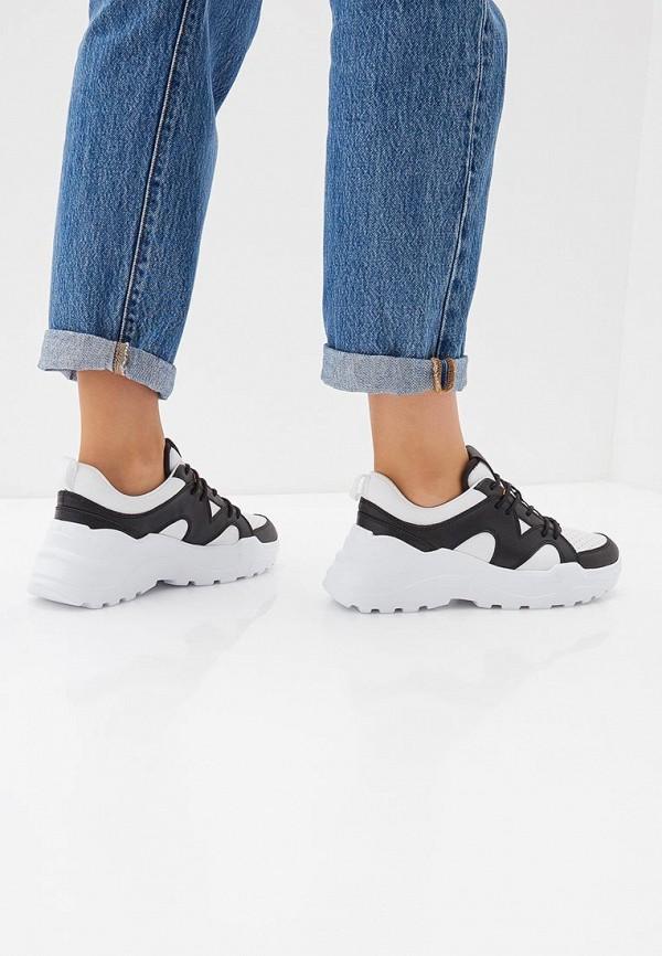 Фото 6 - женские кроссовки Trussardi Jeans белого цвета