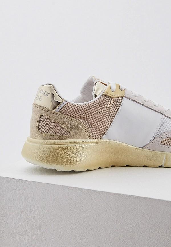 Фото 2 - женские кроссовки Trussardi Jeans бежевого цвета