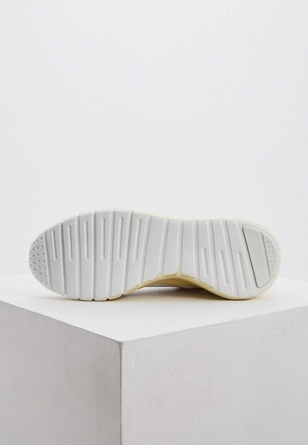 Фото 3 - женские кроссовки Trussardi Jeans бежевого цвета