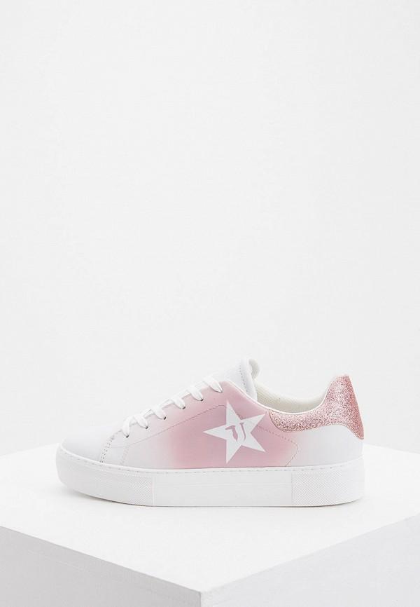 Купить Женские кеды Trussardi Jeans розового цвета