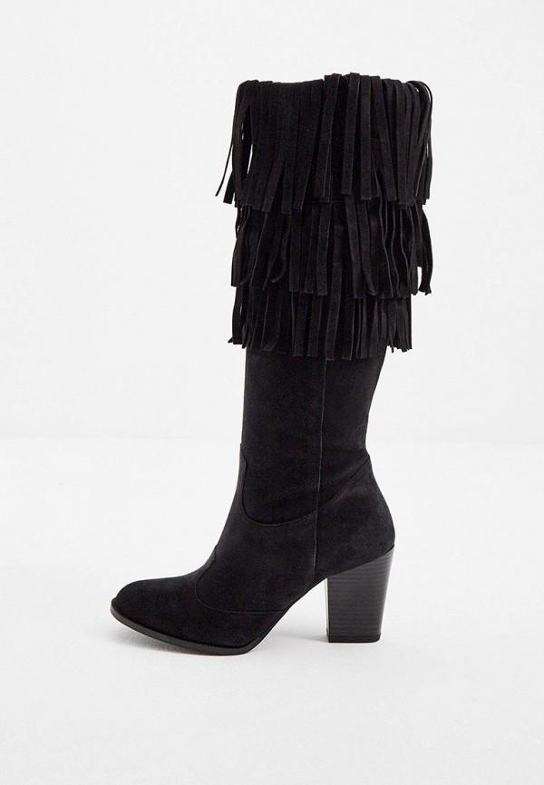 женские сапоги trussardi, черные
