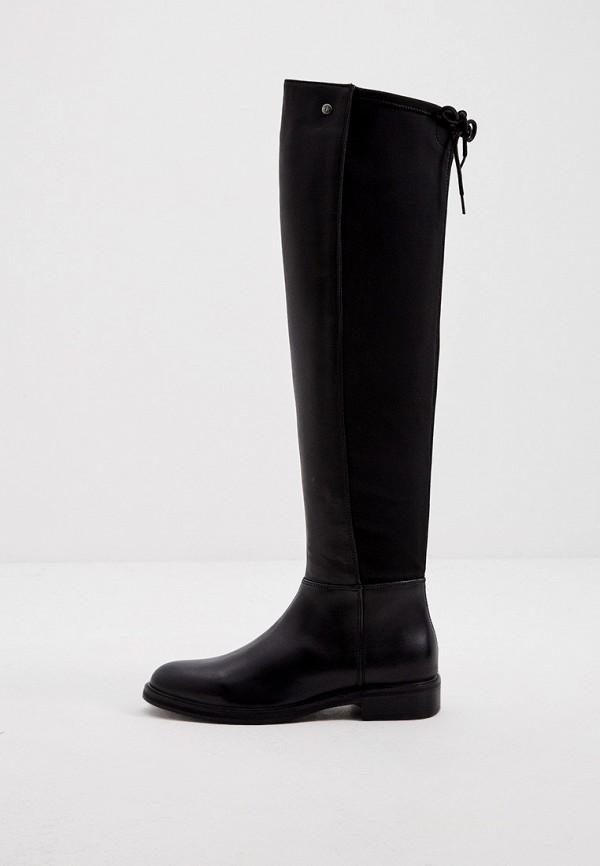женские ботфорты trussardi, черные