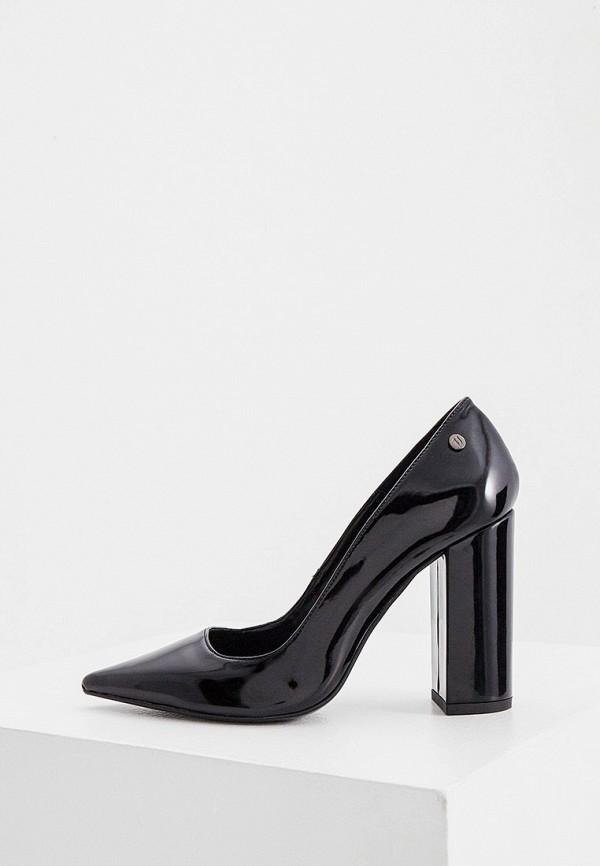 женские туфли с закрытым носом trussardi, черные