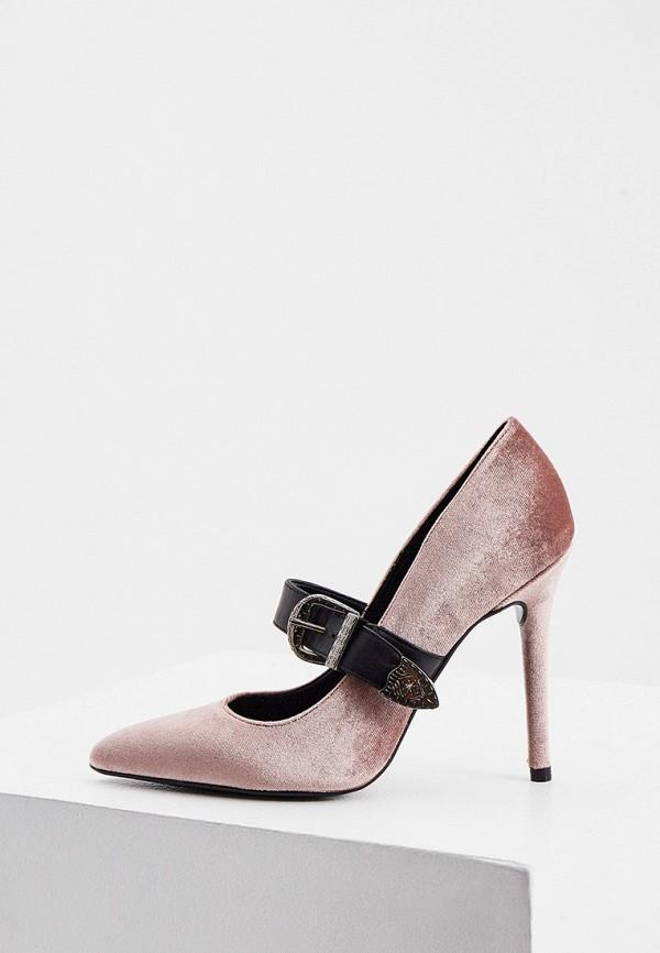 женские туфли trussardi, розовые