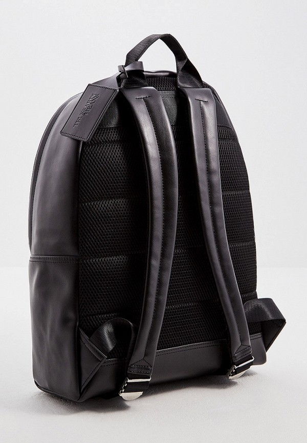 Фото 2 - мужской рюкзак Trussardi Jeans черного цвета