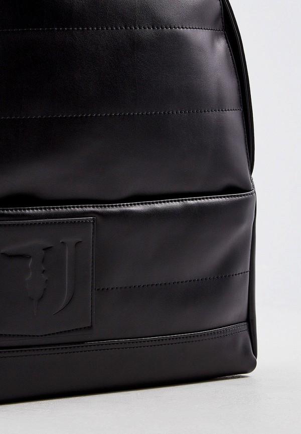 Фото 3 - мужской рюкзак Trussardi Jeans черного цвета