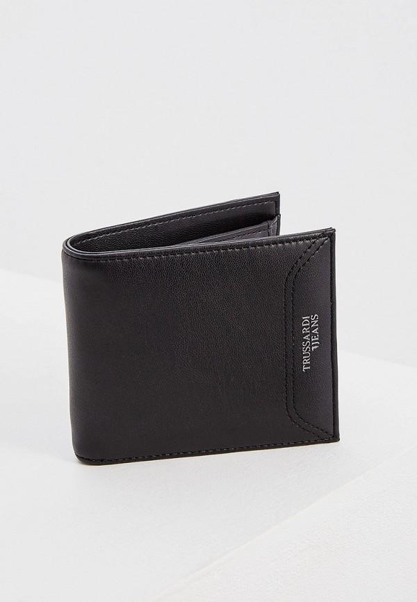 Фото 3 - мужской кошелек или портмоне Trussardi Jeans