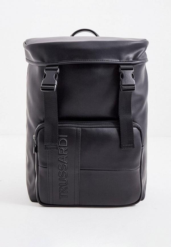 мужской рюкзак trussardi, черный