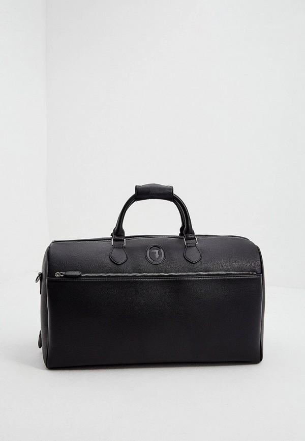 мужская дорожные сумка trussardi, черная