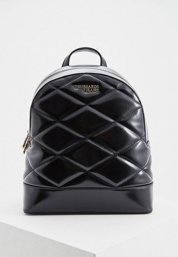 Фото - женский рюкзак Trussardi Jeans черного цвета