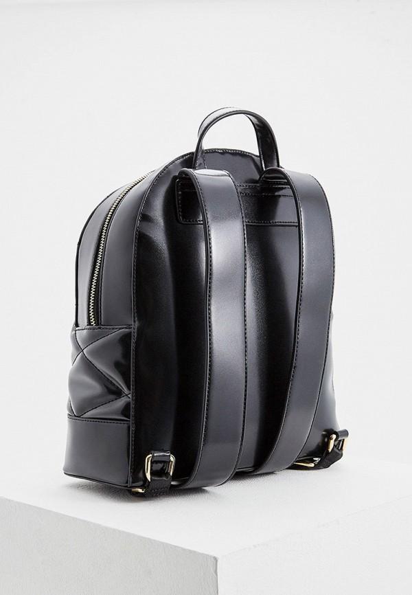 Фото 2 - женский рюкзак Trussardi Jeans черного цвета