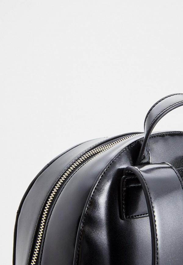 Фото 4 - женский рюкзак Trussardi Jeans черного цвета