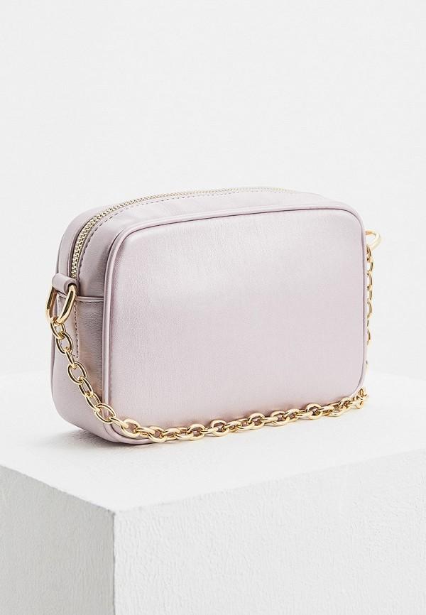 Фото 2 - женскую сумку Trussardi Jeans розового цвета