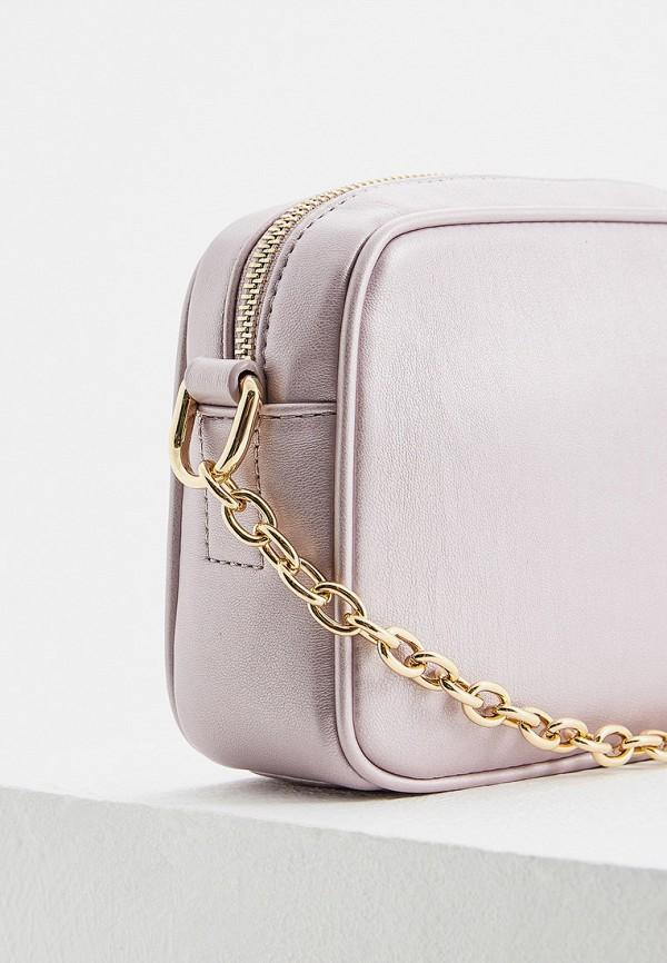 Фото 4 - женскую сумку Trussardi Jeans розового цвета