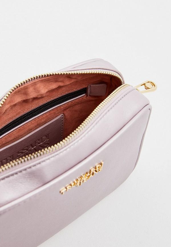 Фото 5 - женскую сумку Trussardi Jeans розового цвета