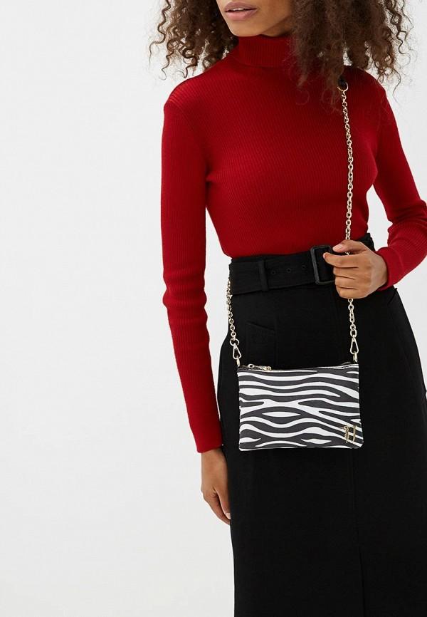 Фото 5 - женскую сумку Trussardi Jeans разноцветного цвета