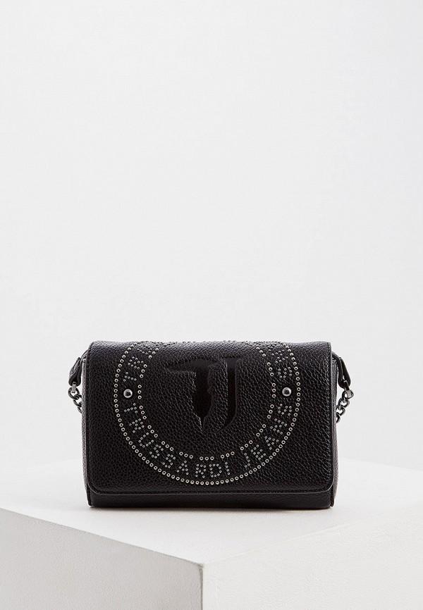 Фото - женскую сумку Trussardi Jeans черного цвета