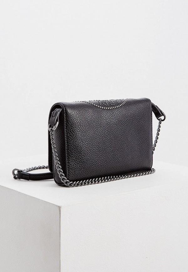 Фото 2 - женскую сумку Trussardi Jeans черного цвета