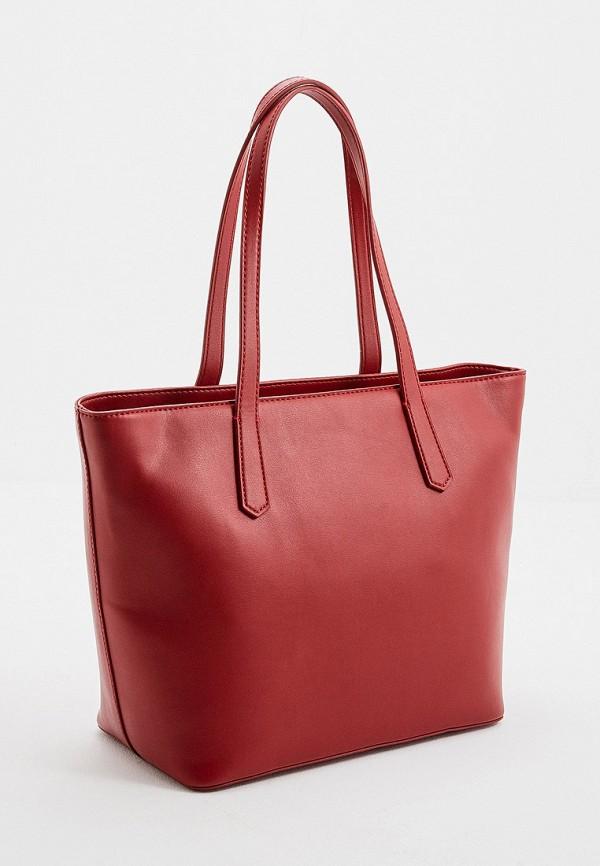 Фото 2 - женскую сумку Trussardi Jeans красного цвета