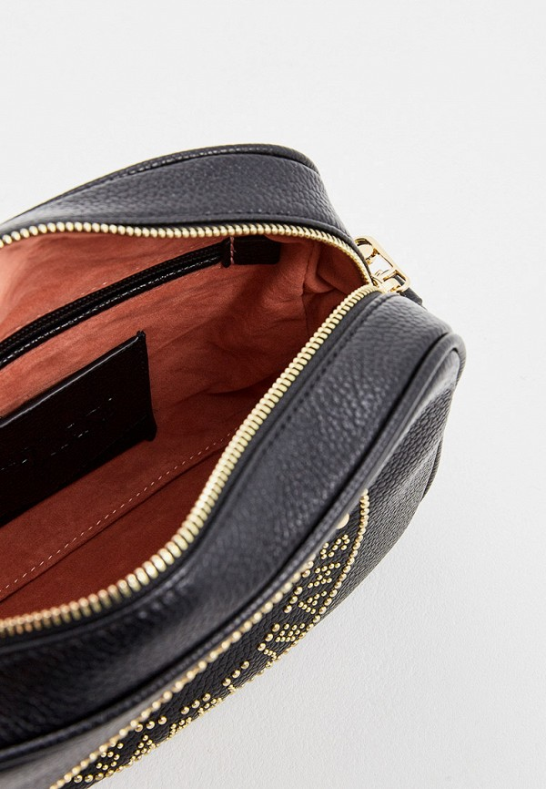 Фото 4 - женскую сумку Trussardi Jeans черного цвета