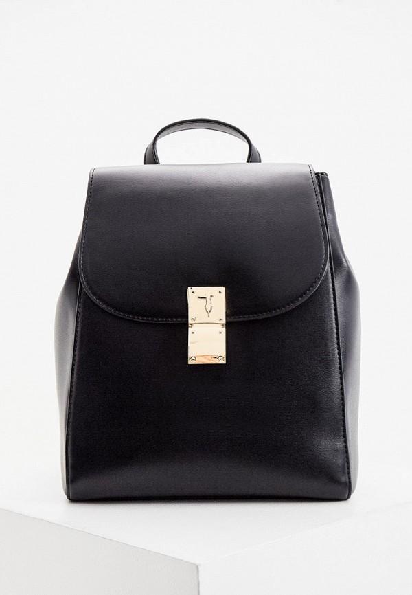 женский рюкзак trussardi, черный