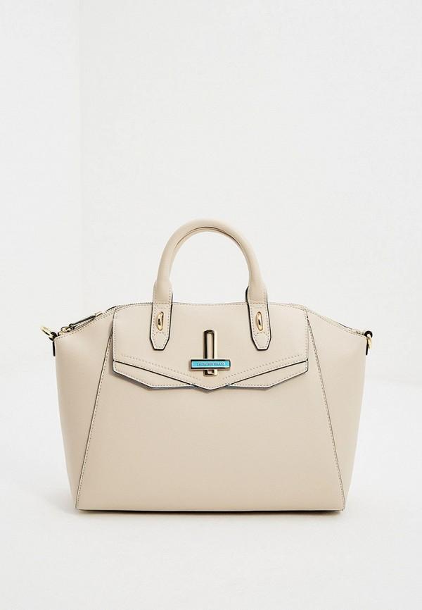 женская сумка trussardi, белая